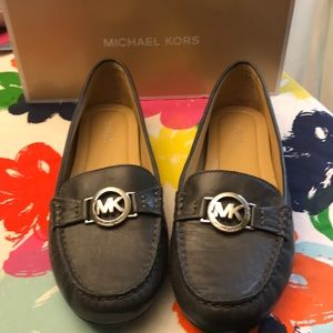 Michael Kors Leather Molly Loafers-NEW!